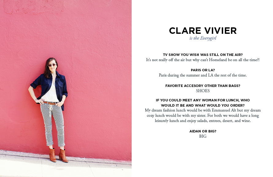 Fashion Designer Clare Vivier The Everygirl
