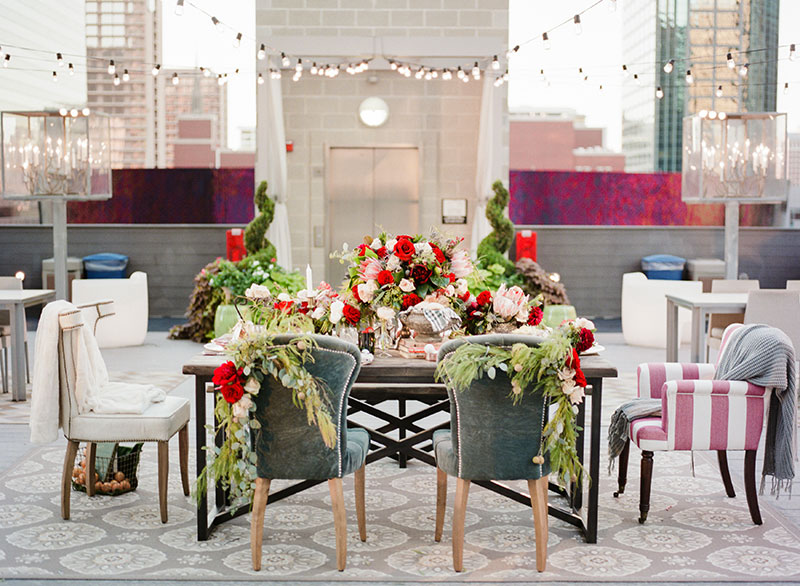 An Outdoor Christmas Party - The Everygirl