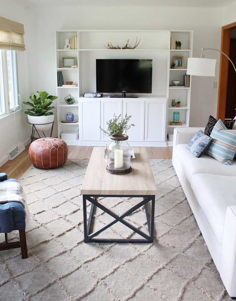 This 25 Year Old Completely Transformed Her Living Room On A Budget The Everygirl
