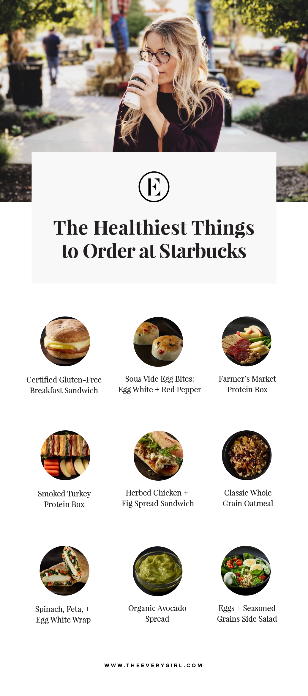 Healthiest Things to Order at Starbucks