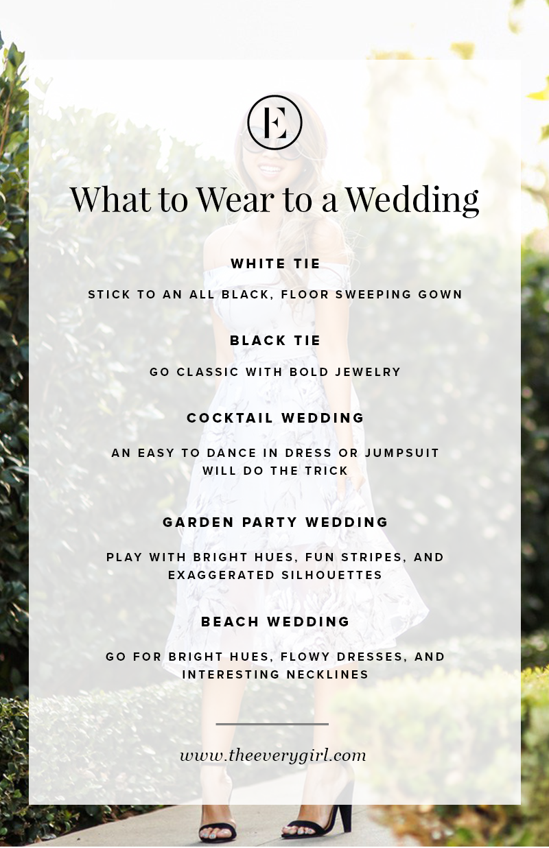 What To Wear To A Wedding Reception As A Guest The Everygirl