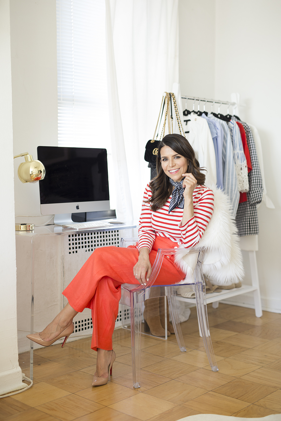 This Blogger S Chic Nyc Apartment Will Inspire You To Redecorate The Everygirl
