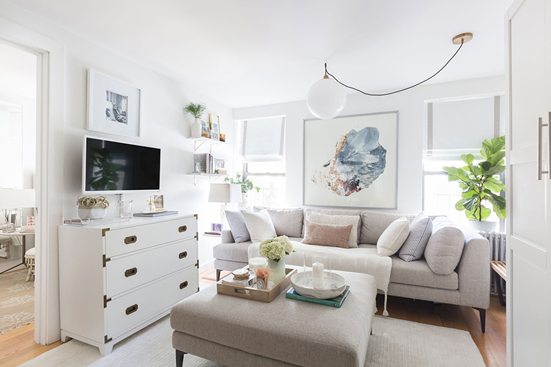 Tour The 500 Sq Ft Apartment That Made Our Editors Gasp The Everygirl,Background Design And Technology Clipart