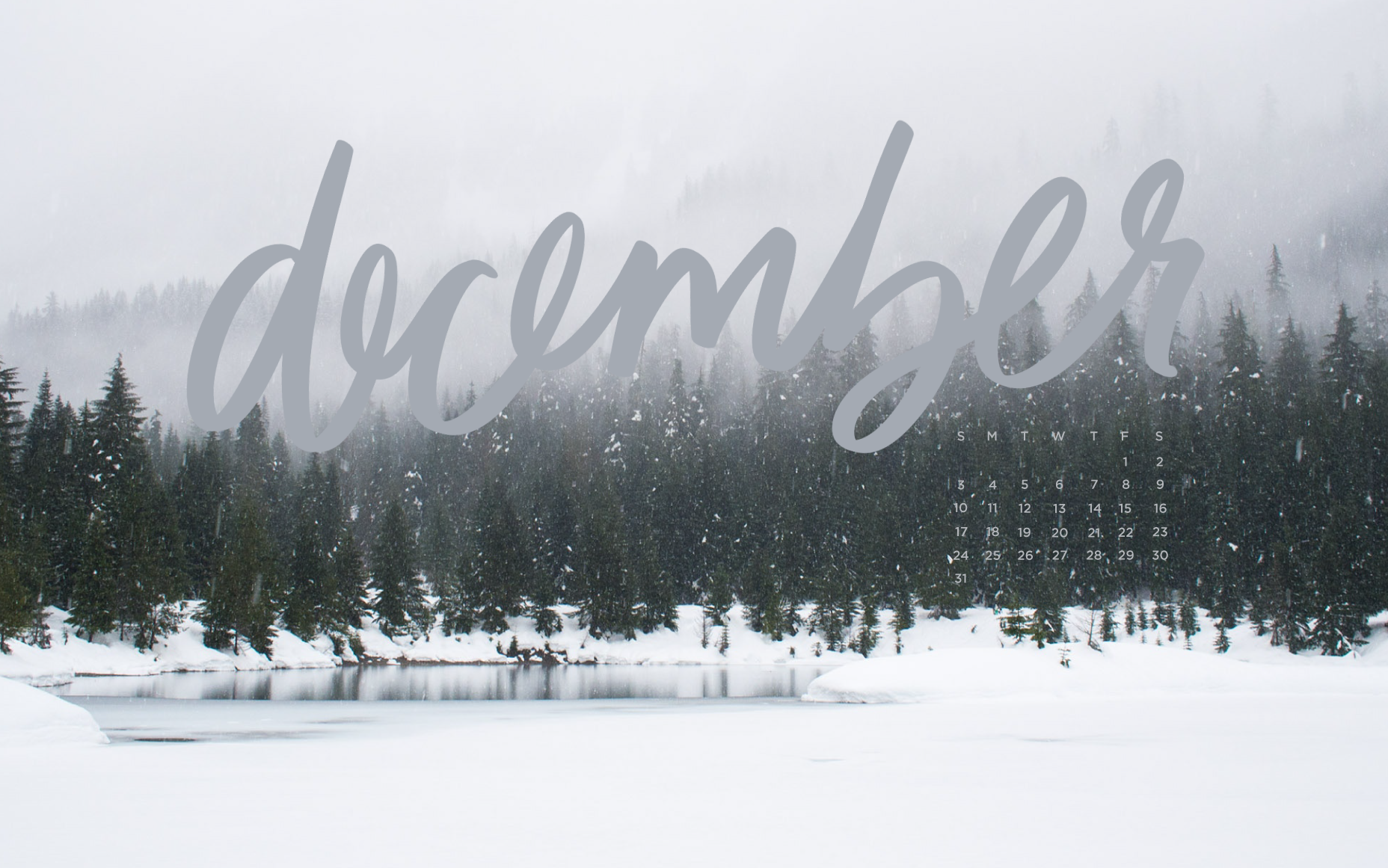 Free, Downloadable Tech Backgrounds for December! | The ...