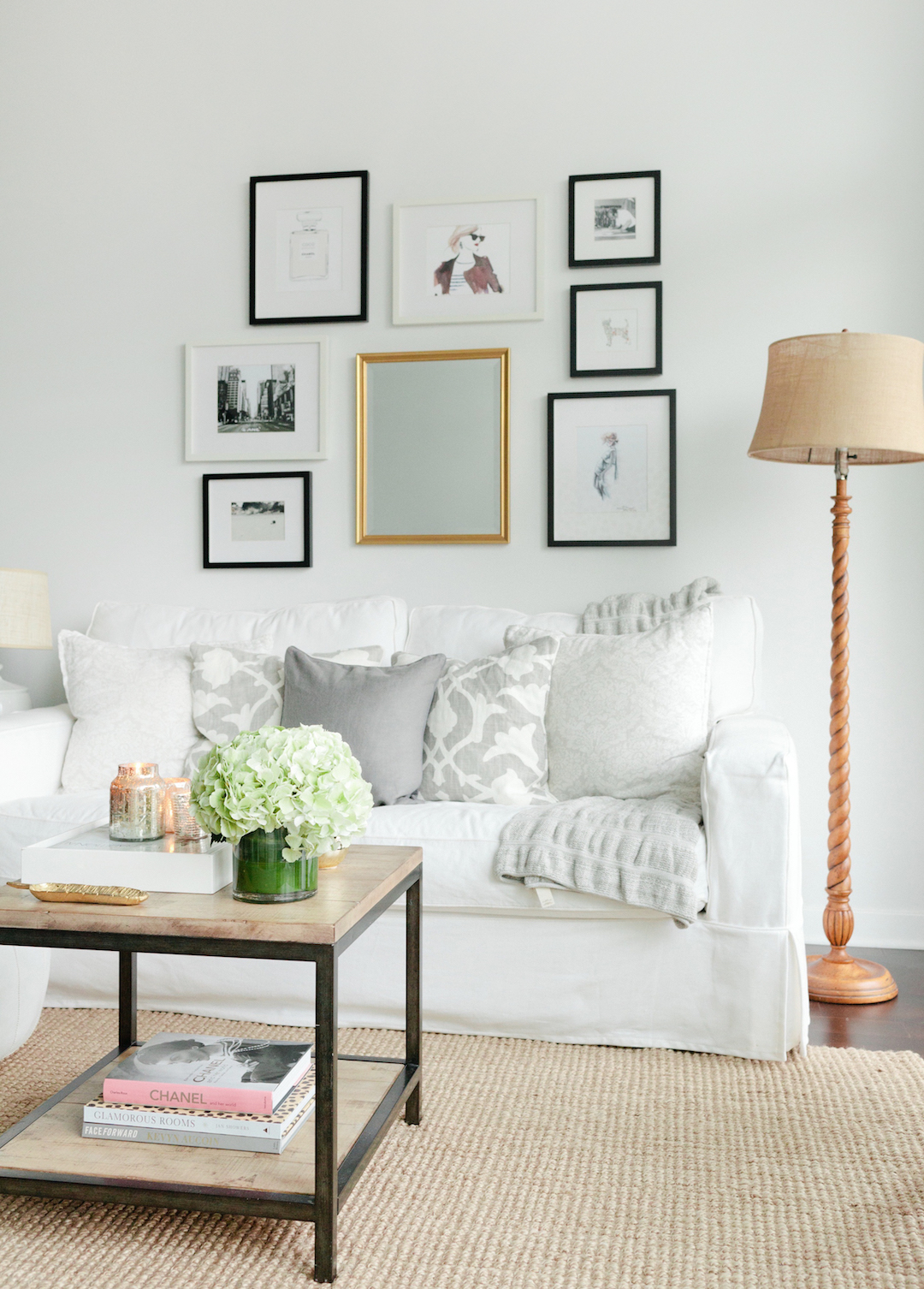 Get The Look For Less Cozy Minimalist Living Room The