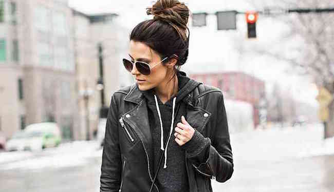 How to Style a Leather Jacket The Everygirl  The Everygirl