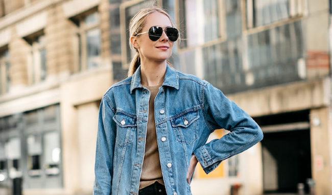 innovative design order order online 6 Ways to Style an Oversized Denim Jacket   The Everygirl