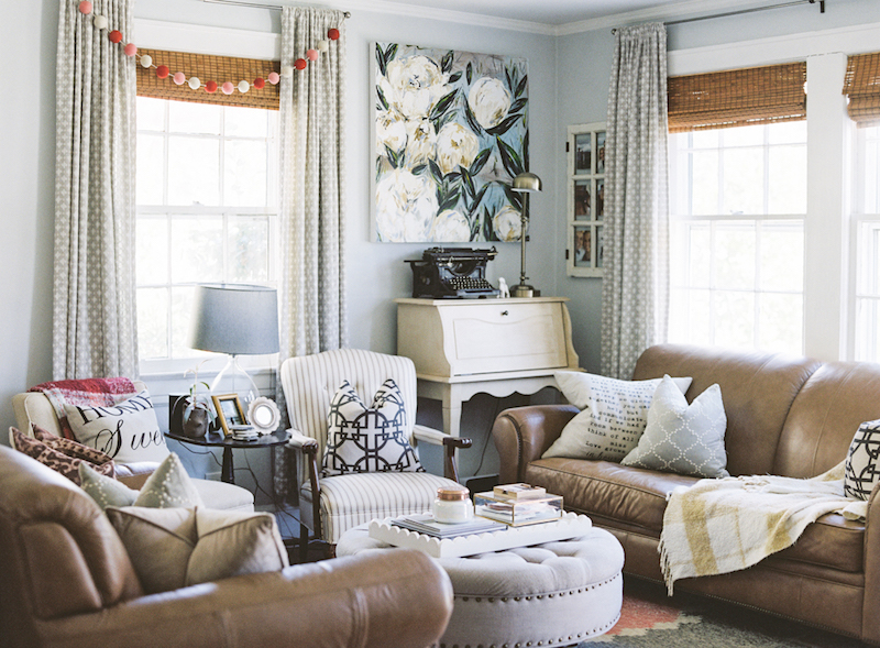 Peek Inside An Morgan Rollinson S 800 Sq Ft Bungalow In Raleigh The Everygirl