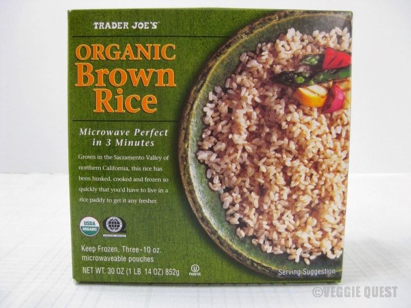trader joes frozen brown rice gluten free