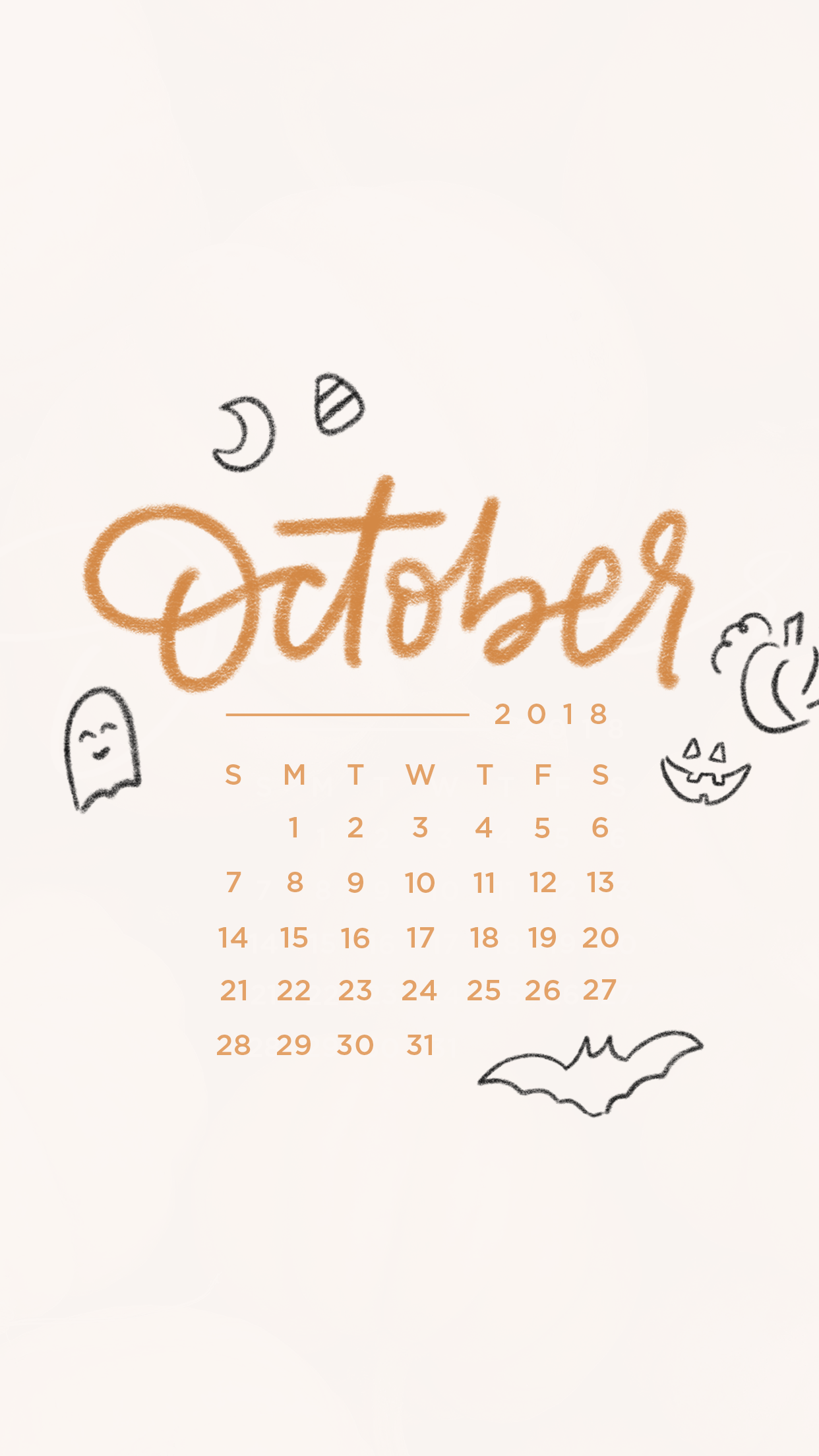 Tech Backgrounds for October 2018