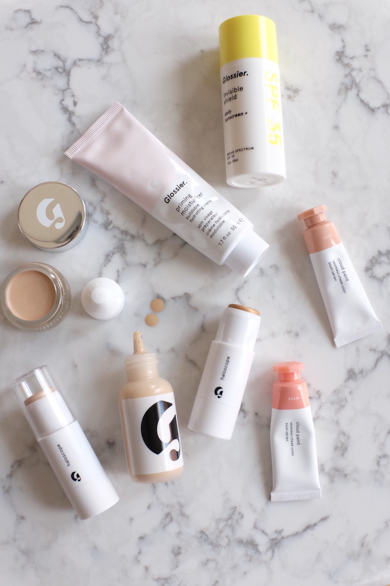 The Secret To A Simple Yet Stunning Makeup Routine According To A Glossier Editor The Everygirl