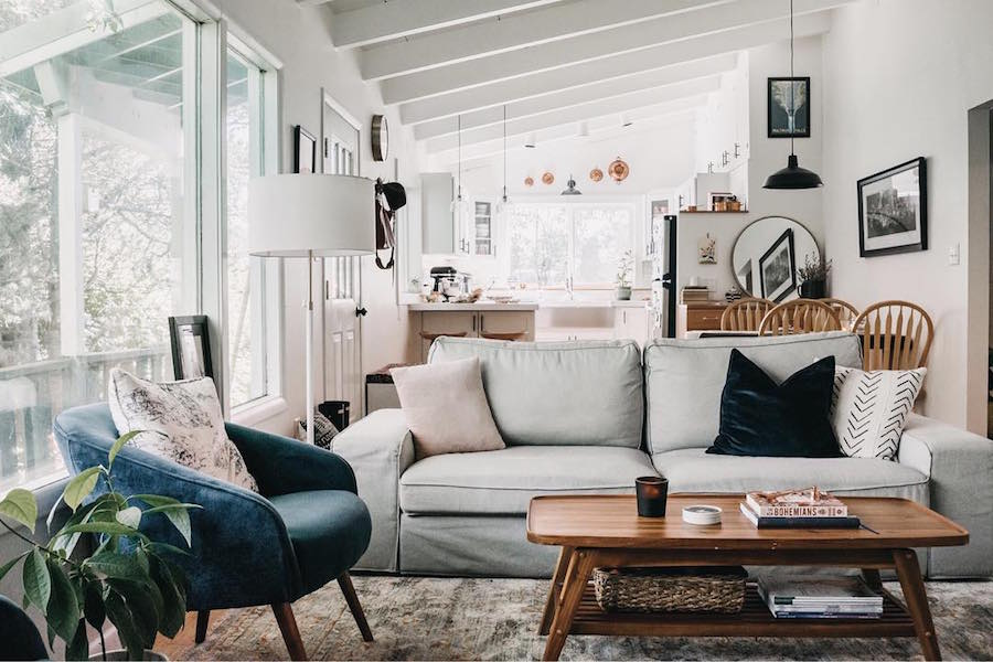 Step Inside An 800 Sq Ft Home In Alaska With Major Scandinavian Style The Everygirl
