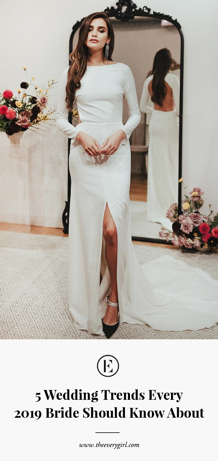 5 Wedding Trends Every 2019 Bride Should Know About The Everygirl