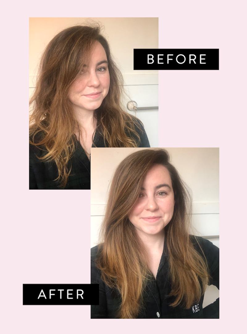 I Tried This 60 Revlon Hair Dryer Styler The Everygirl
