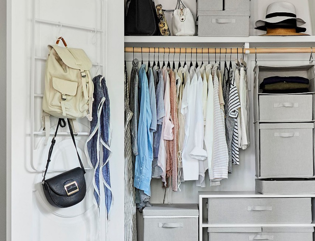 The Genius Organization Hack I Use To Keep My Tiny Closet In Check The Everygirl