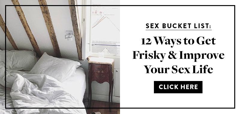 5 habitudes qui peuvent booster votre vie sexuelle