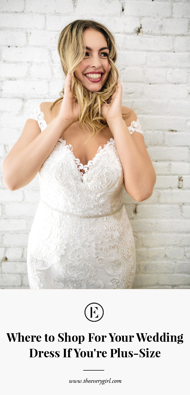 Where to Shop for Your Wedding Dress If You\'re Plus-Size ...