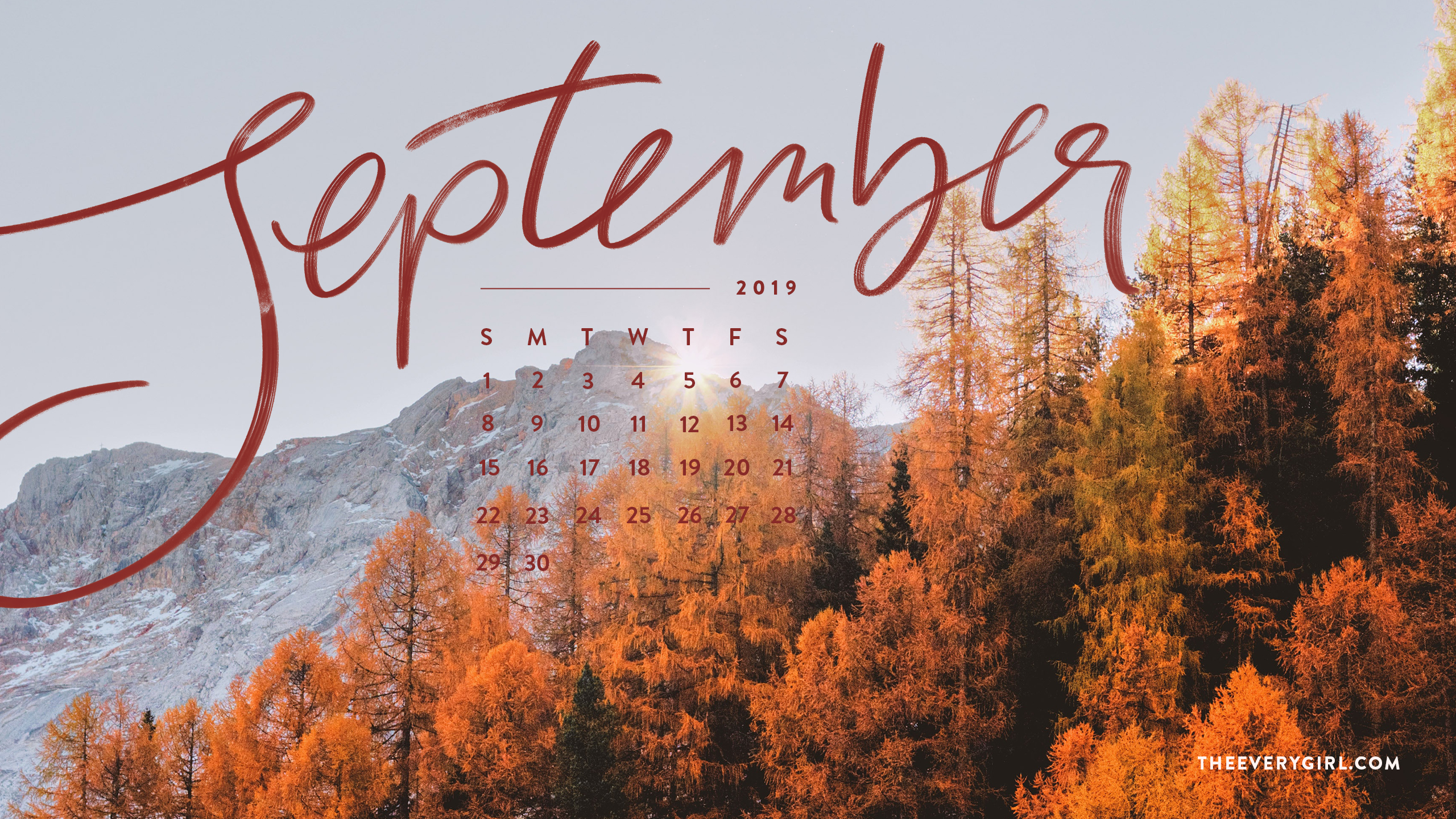 Free Downloadable Tech Backgrounds For September 2019 The Everygirl
