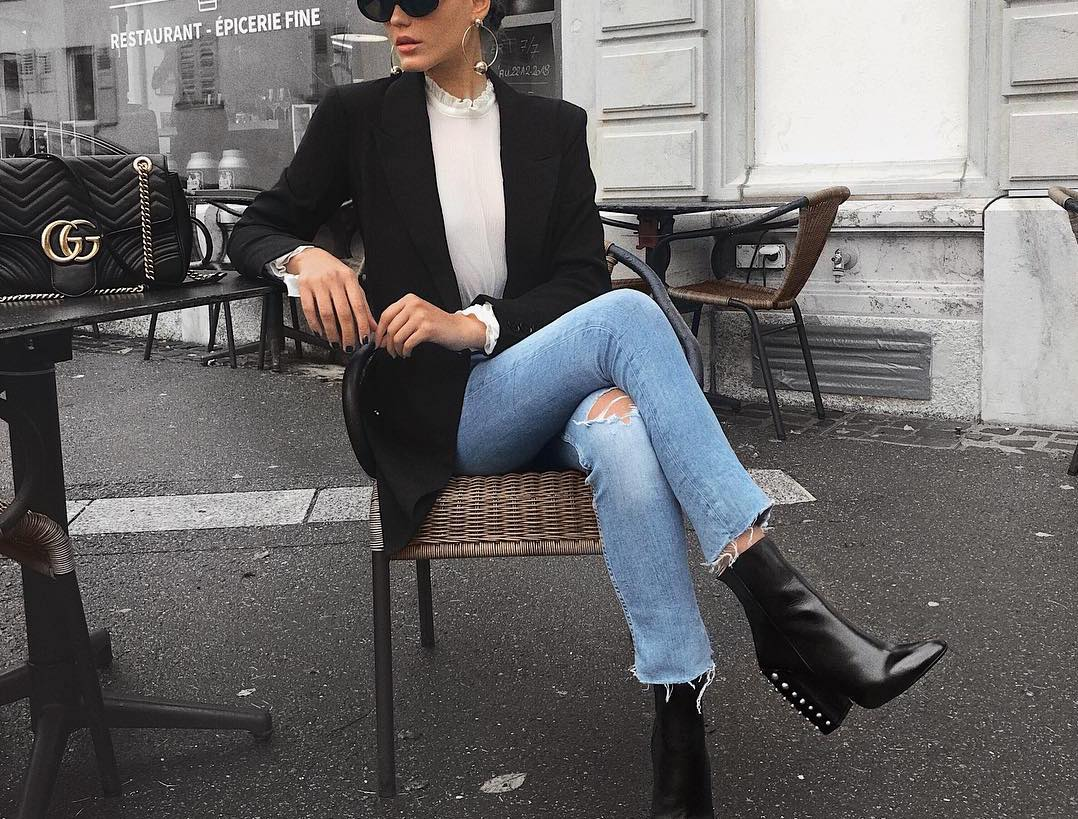 Style Your Black Booties for Fall