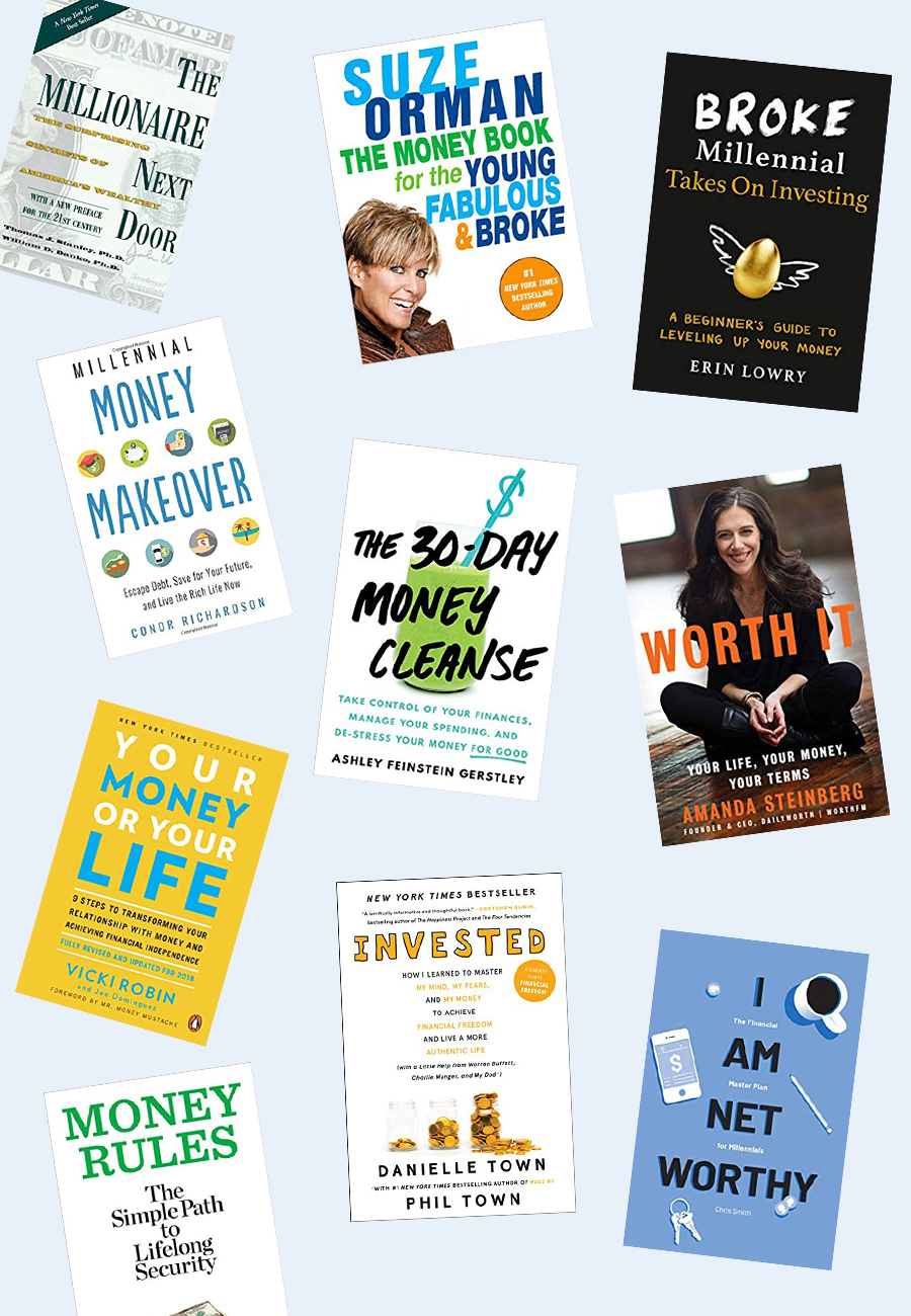 10 Books That Will Help You Take Control Of Your Finances The Everygirl