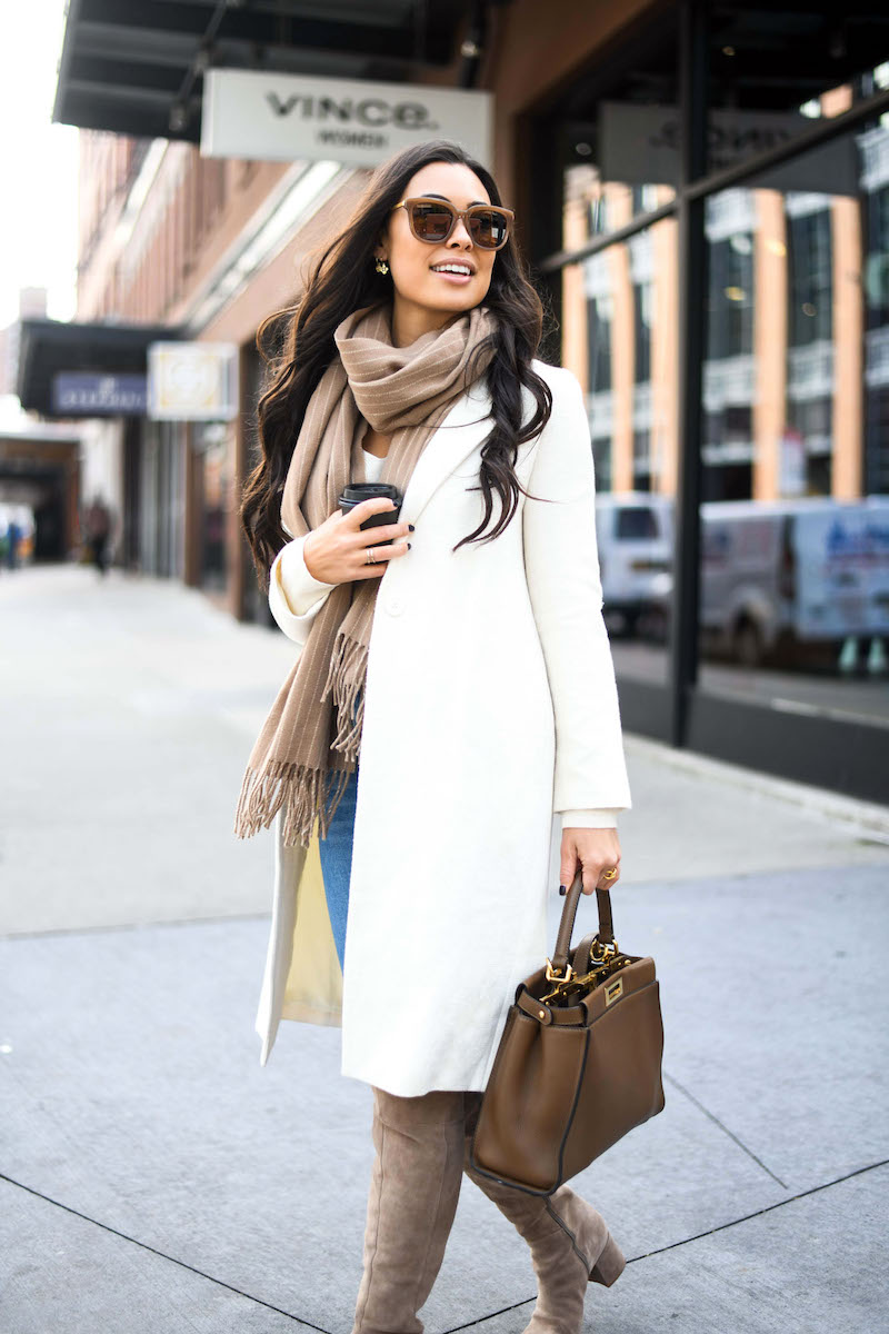 9 Ways To Style Your Favorite Scarf This Fall The Everygirl