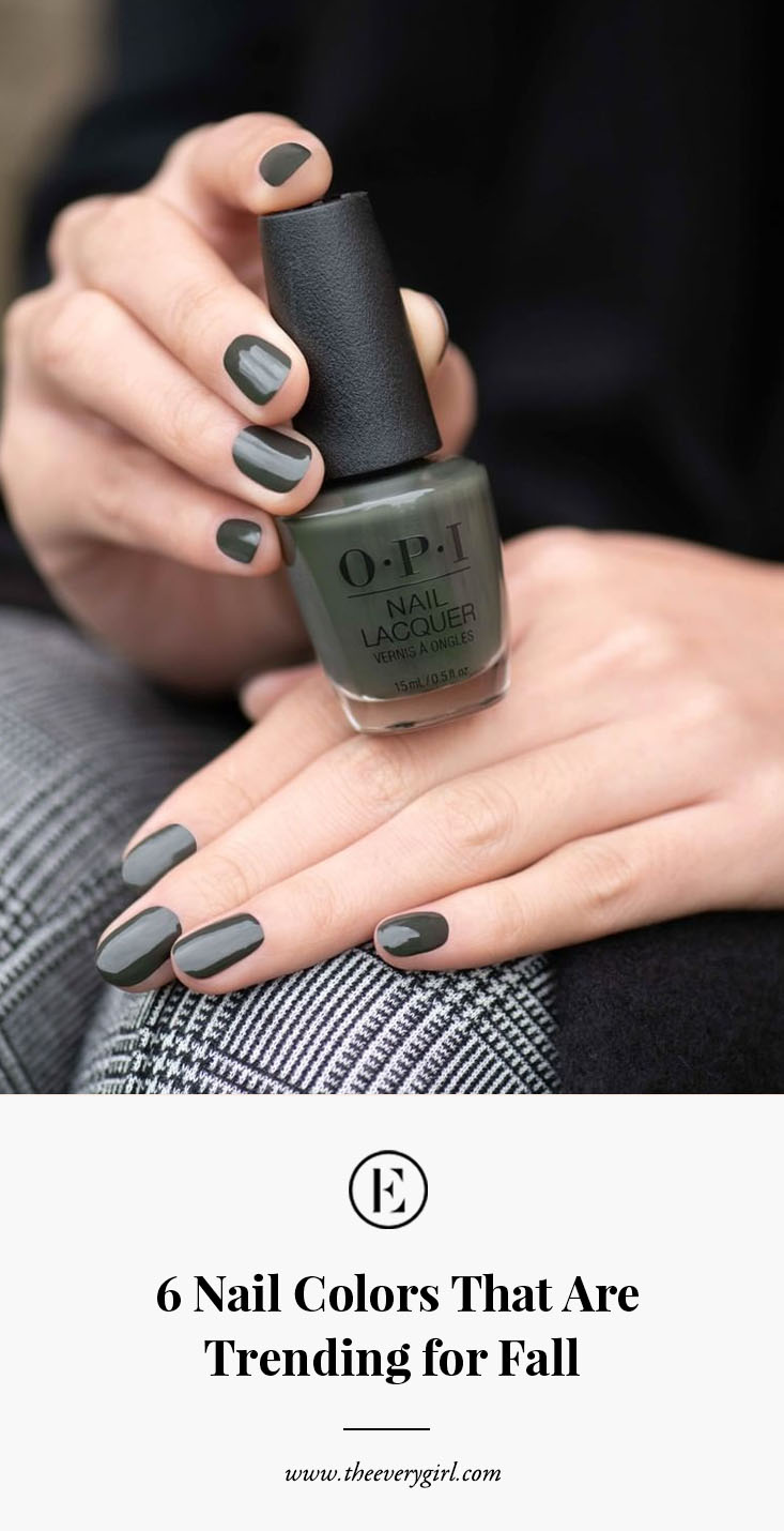 6 Nail Colors That Are Trending for Fall