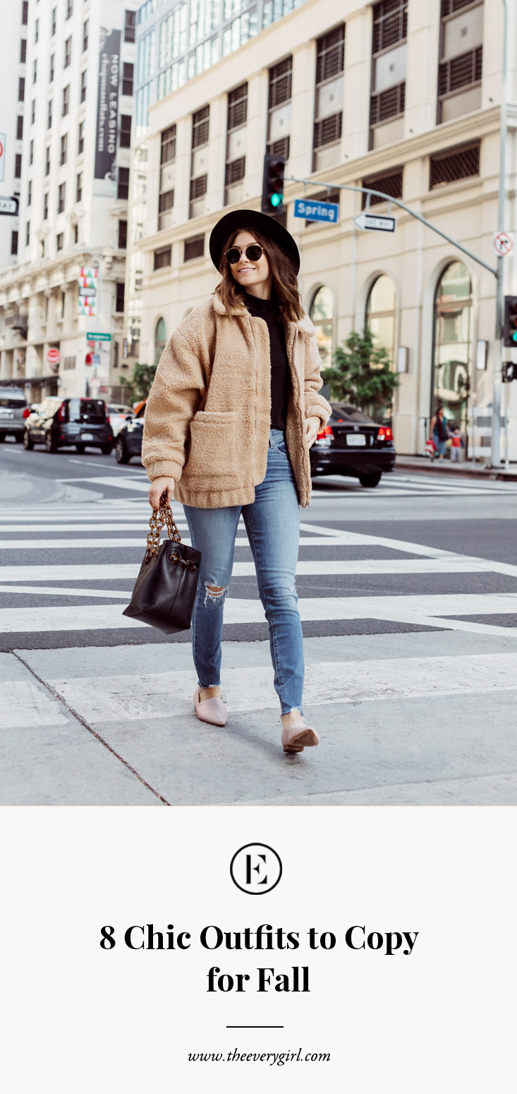 7 Chic AF Outfits to Copy This Fall  The Everygirl