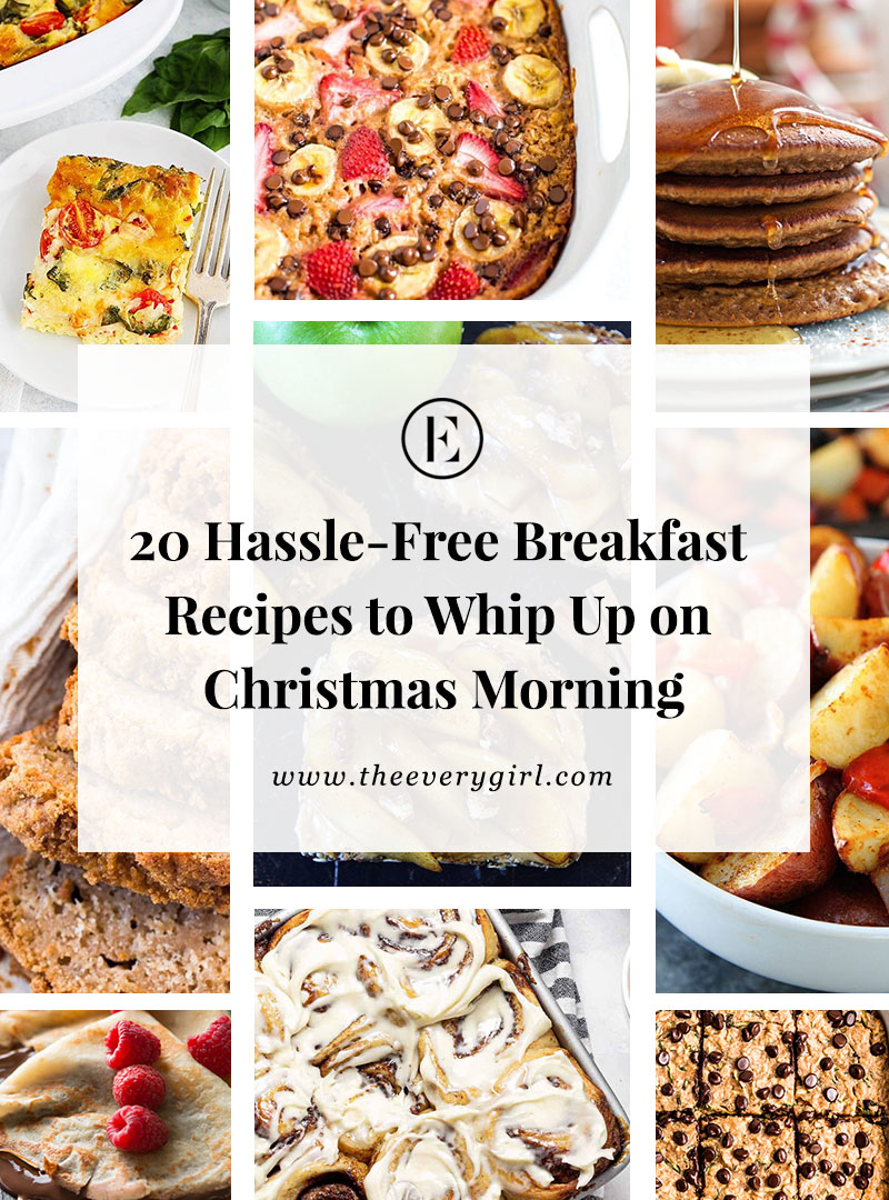 20 Easy Breakfast Recipes To Whip Up On Christmas Morning