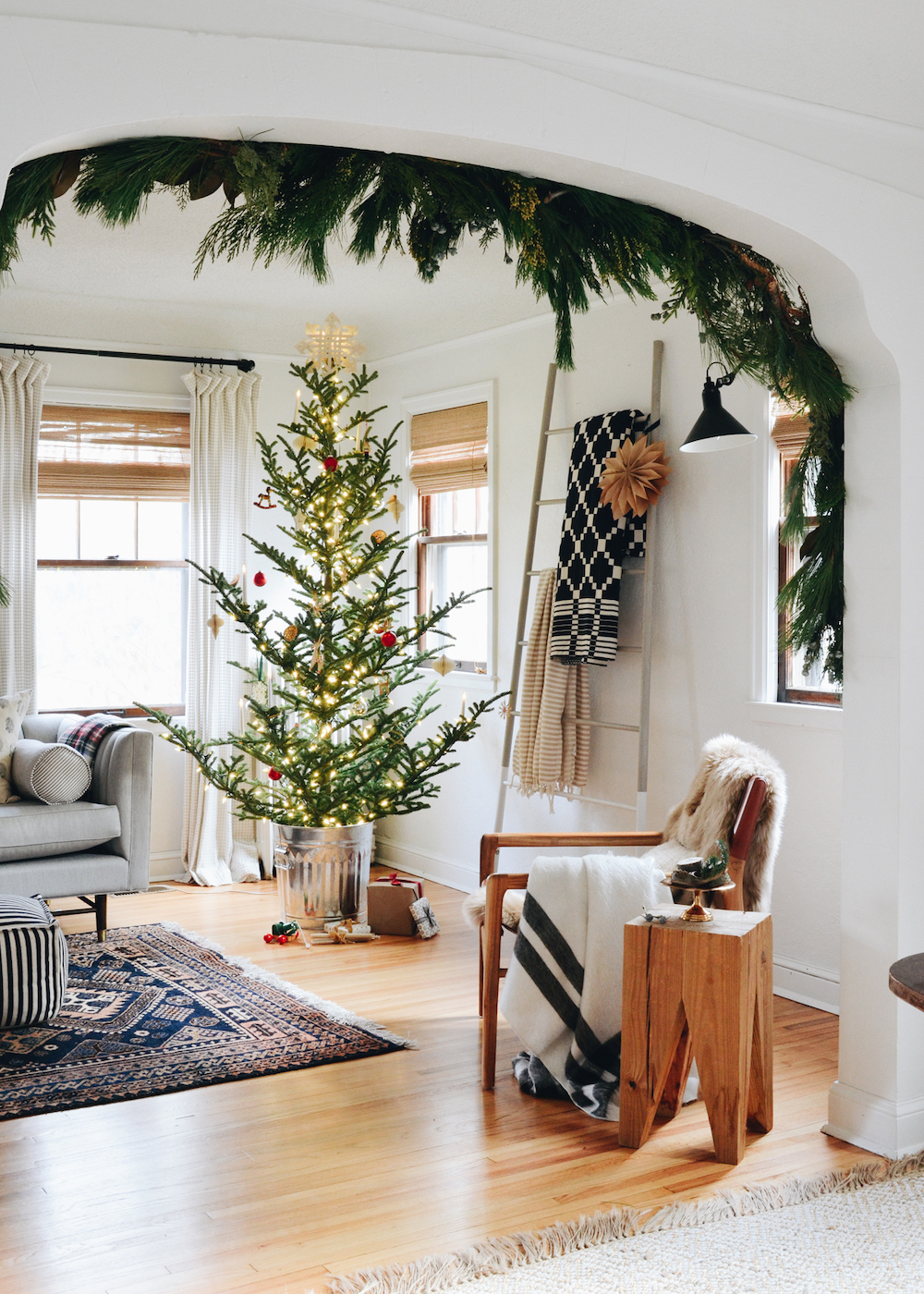 Erin Francois S Nordic Inspired Christmas Sanctuary The