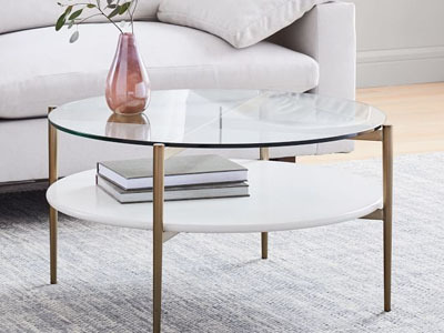 Origami Coffee Table, Medium | west elm | 300x400