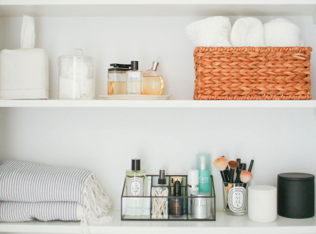how i decluttered and organized my makeup stash theeverygirl Featured Horizonal Image