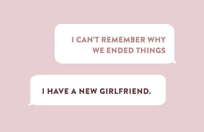 Que s'est-il passé lorsque 5 femmes ont envoyé un texto à leurs ex?