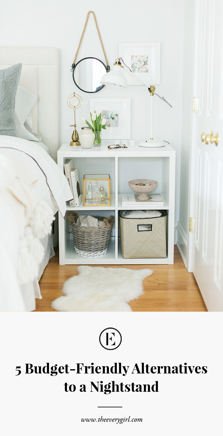 5 Budget Friendly Alternatives To A Nightstand The Everygirl