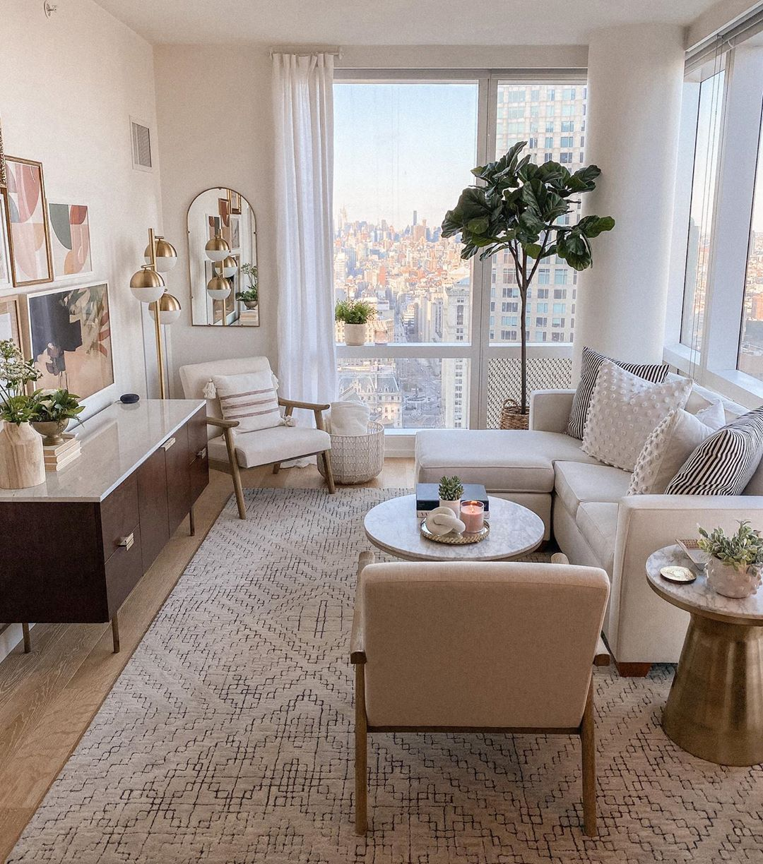 50+ Beautiful Living Room Home Decor 54