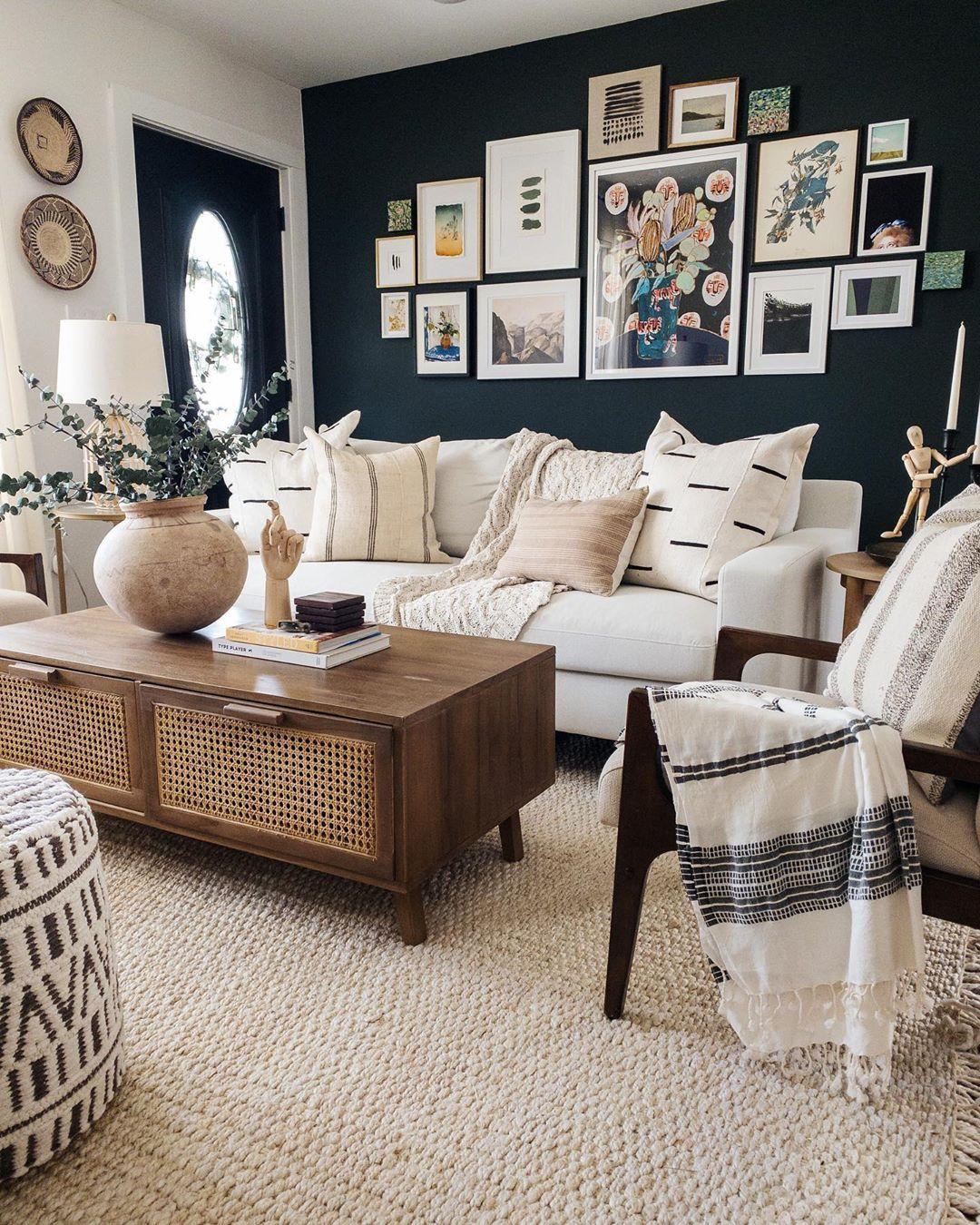 50+ Beautiful Living Room Home Decor 72