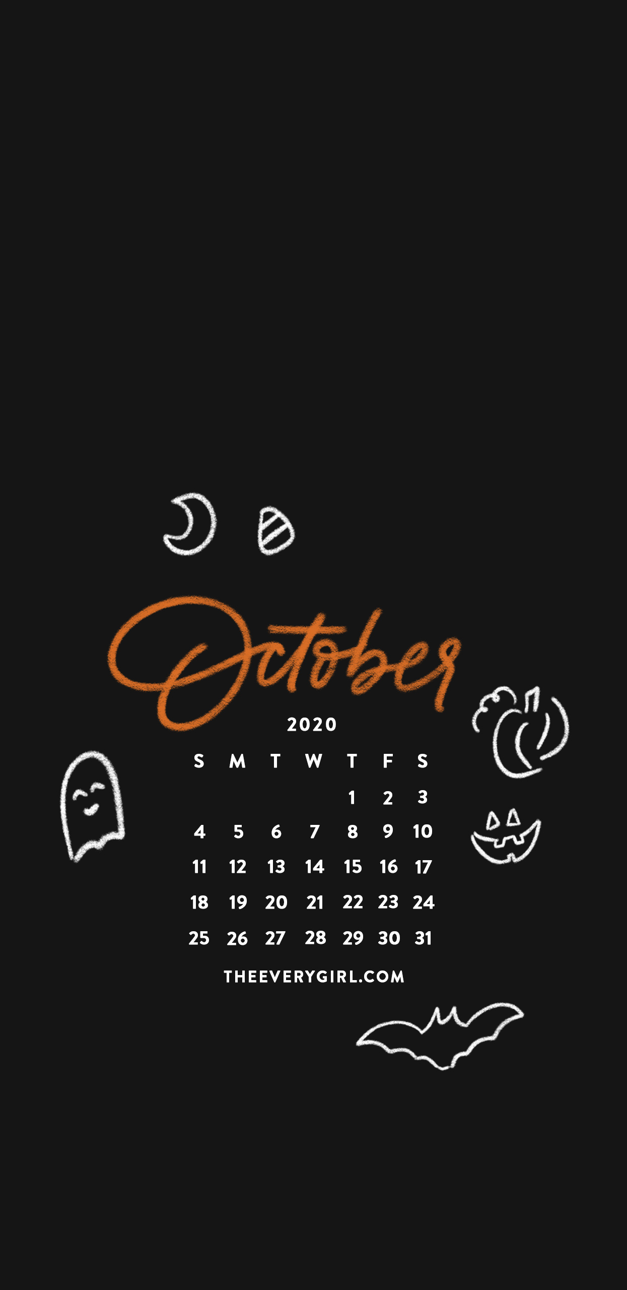 Free Downloadable Tech Backgrounds For October 2020 The Everygirl