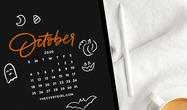 Free, Downloadable Tech Backgrounds for October 2020!