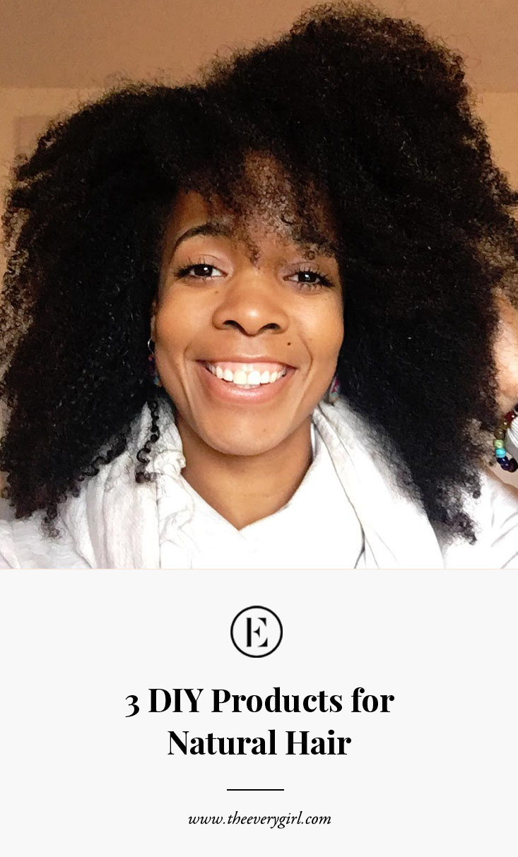 Diy Products I Use On My Natural Hair