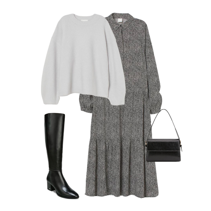 How to Dress Up Your Grey Sweater 11