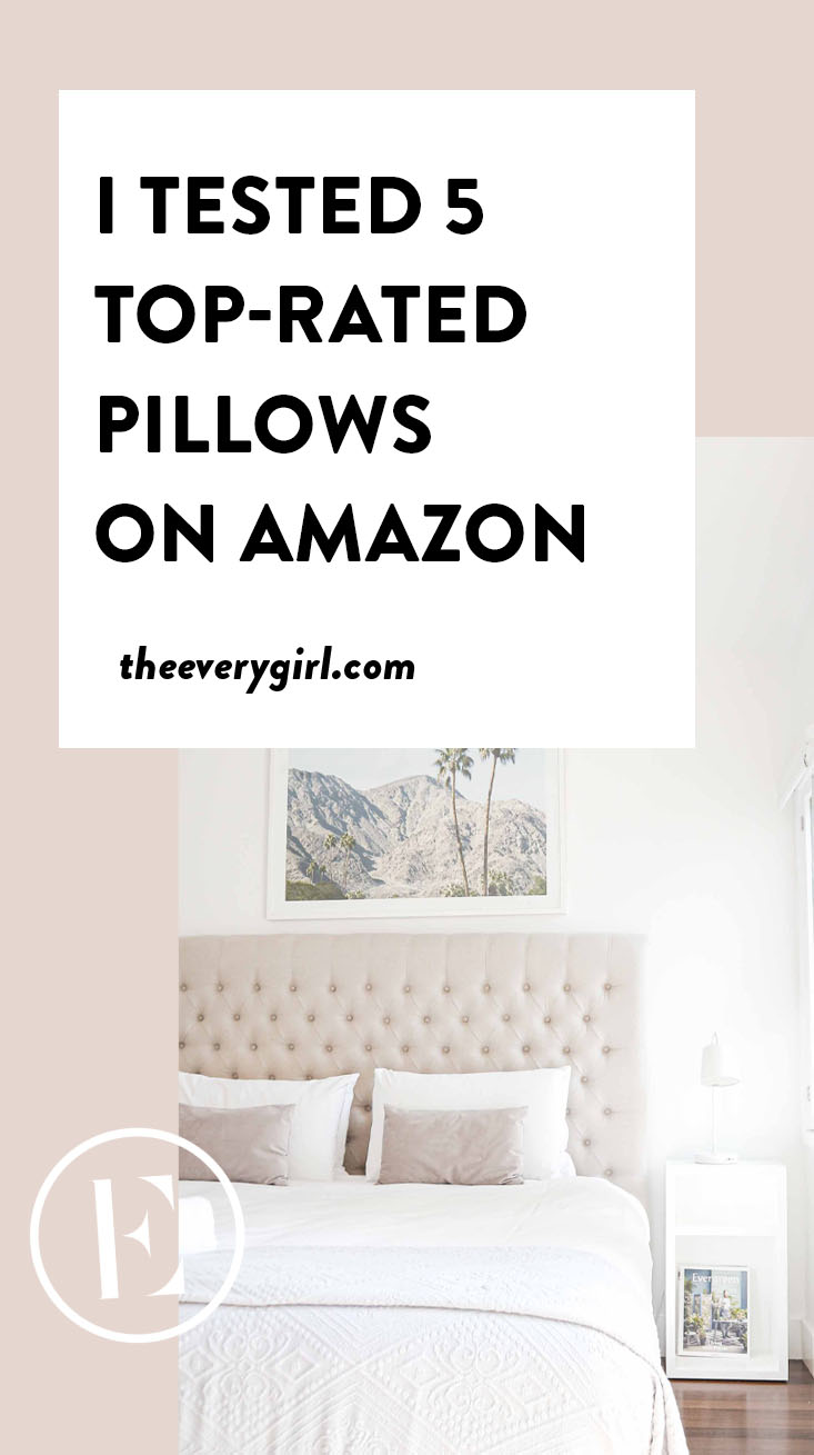 i tried 5 top rated pillows on amazon